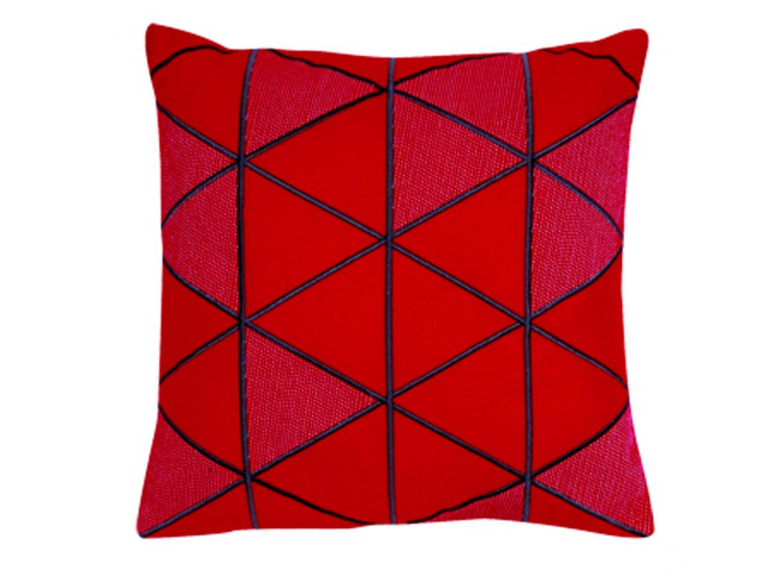 coussin fred rouge