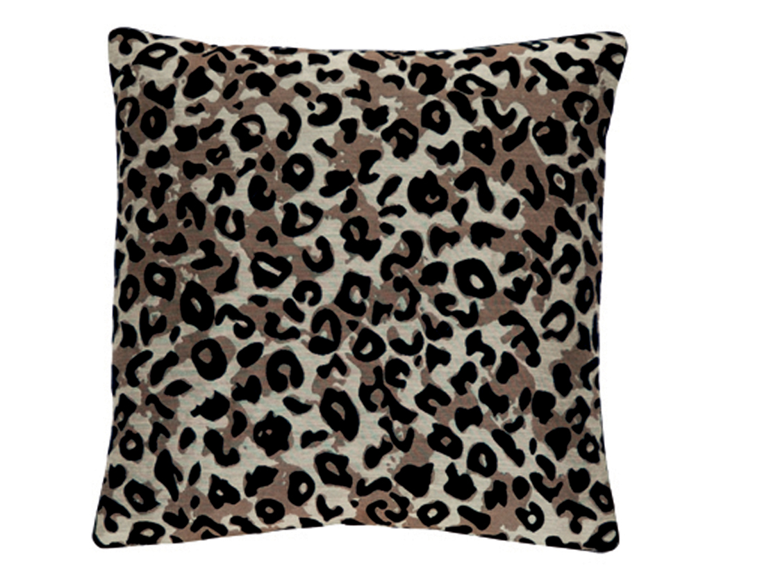 Coussin audrey taupe